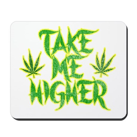 Take Me Higher (Vintage) Mousepad