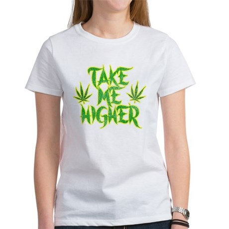 Take Me Higher (Vintage) Womens T-Shirt
