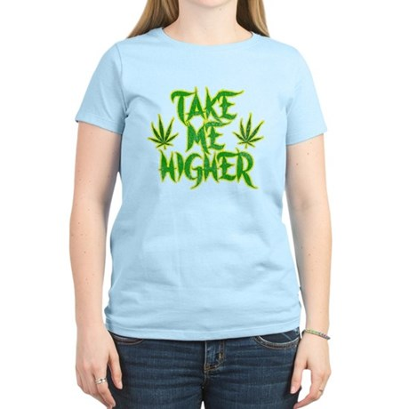 Take Me Higher (Vintage) Womens Light T-Shirt