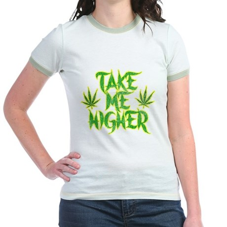 Take Me Higher (Vintage) Jr Ringer T-Shirt