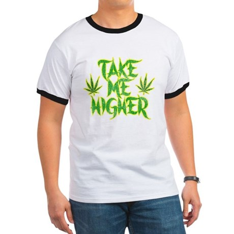 Take Me Higher (Vintage) Ringer T