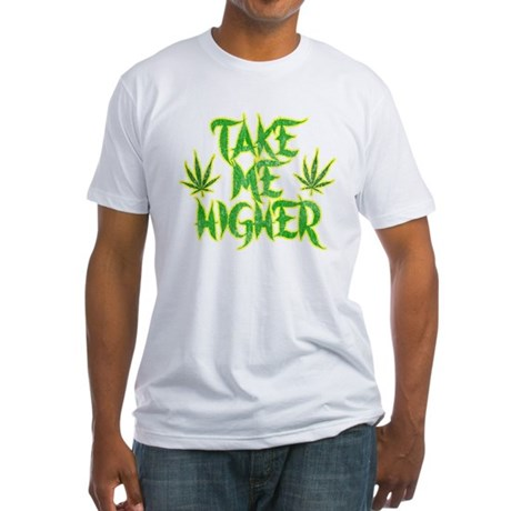 Take Me Higher (Vintage) Fitted T-Shirt