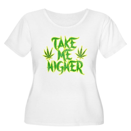Take Me Higher (Vintage) Womens Plus Size Scoop N