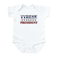 TYRESE for president Infant Bodysuit