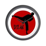 Dylan Karate Wall Clock