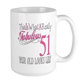 51st Birthday Gifts Mug