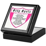 Sexy Spots top 10 Keepsake Box