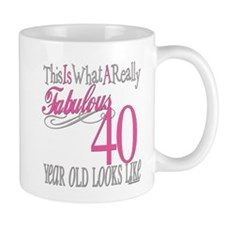 40th Birthday Gifts Mug