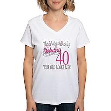 40th Birthday Gifts Shirt