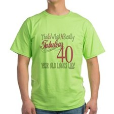 40th Birthday Gifts T-Shirt