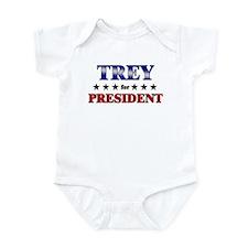 TREY for president Infant Bodysuit