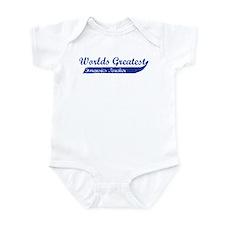 Greatest Forensics Teacher Infant Bodysuit