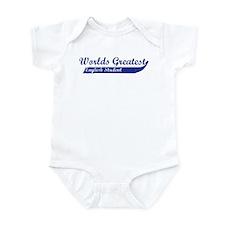 Greatest English Student Infant Bodysuit
