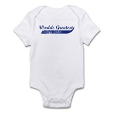 Greatest Zoology Teacher Infant Bodysuit