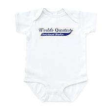 Greatest Investment Banker Infant Bodysuit