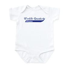 Greatest Librarian Infant Bodysuit