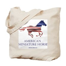 American Miniature Horse Flag Tote Bag