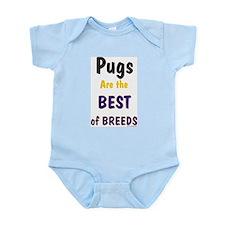 Pug Dog Infant Creeper