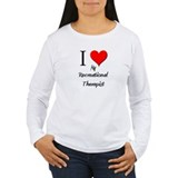 I Love My Recreational Therapist T-Shirt