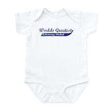 Greatest Astronomy Student Infant Bodysuit