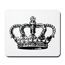 Black Crown Mousepad