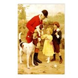 VINTAGE DOG ART: HUNTER, FOXHOUNDS... Postcards (P