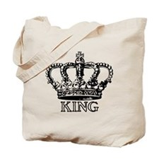 King Crown Tote Bag