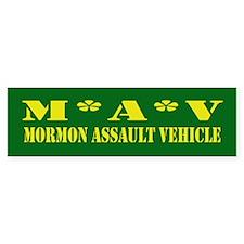 Mormon Assault Bumper Bumper Sticker
