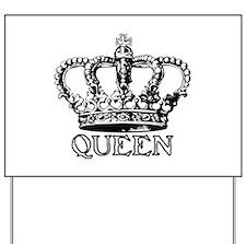 Queen Crown Yard Sign