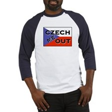 CZECH ME OUT Baseball Jersey