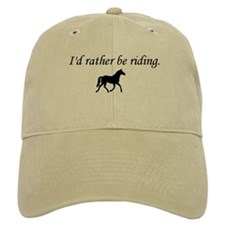 I'd Rather Be Riding Baseball Cap