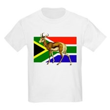 South Africa Springbok Flag T-Shirt