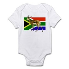 South Africa Springbok Flag Infant Bodysuit