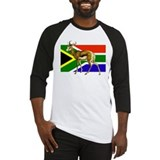 South Africa Springbok Flag Baseball Jersey