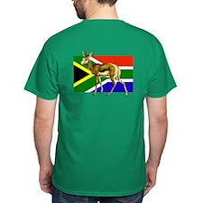 South Africa Springbok Flag T-Shirt