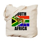 South Africa Springbok Tote Bag