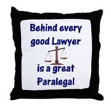 Paralegal Throw Pillow