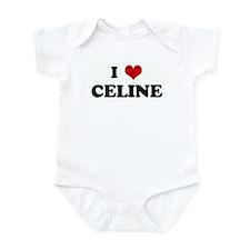 I Love CELINE Infant Bodysuit