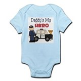 Daddy's My Hero Infant Bodysuit