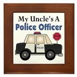 My Uncle's A Police Officer Framed Tile