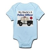 My Uncle's A Police Officer Infant Bodysuit