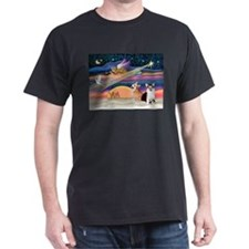 XmasStar/2 Corgis (P1) T-Shirt