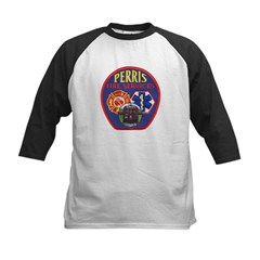 Perris Fire Services Kids Baseball Jersey