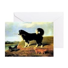 SPANIEL & NORFOLK Greeting Cards (Pk of 10)
