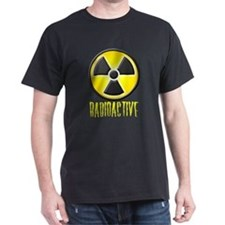 Radioactive Lab Wear Logo Black T-Shirt