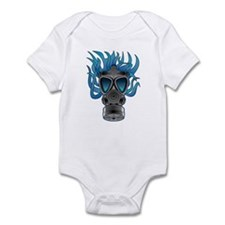 Gas Mask Blue @ eShirtLabs Infant Bodysuit