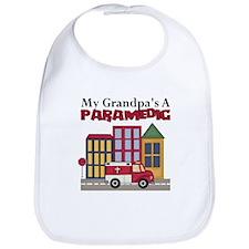 My Grandpa's A Paramedic Bib