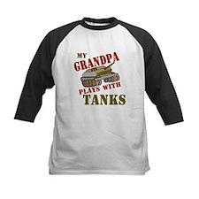 Grandpa Plays with Tanks Tee