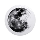 Full Moon Ornament (Round)