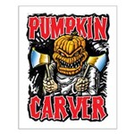 Pumpkin Carver @ eShirtLabs Small Poster